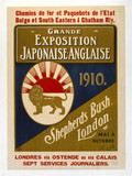 'Grande Exposition Japonaise-Anglaise', railway poster, 1910.