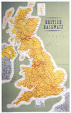 'British Railways - Map of the System', 1962.