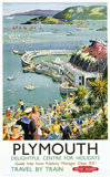 'Plymouth', BR (WR) poster, c 1950s.