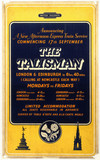 'The Talisman - Announcing a New Afternoon Expres Service', c 1950s.