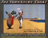 'The Yorkshire Coast', GNR poster, 1910.