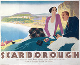 Scarborough, North Yorkshire, LNER poster, 1923-1947.