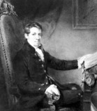 Sir Humphry Davy, English chemist, c 1801.