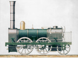 Standard 0-4-2 goods locomotive, 1833.
