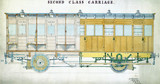 Second clas carriages, c 1860.