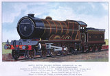 'Aberdonian' North British Railway expres locomotive, no 868, c 1900.