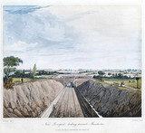 'Near Liverpool, Looking towards Manchester', 1831.