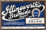Illingworth's Bromide Paper, c 1930s.