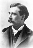 William Friese Greene, English pioneer of motion pictures, c 1880.