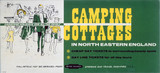 'Camping Cottages in North Eastern England', BR (NER) poster, 1960s.