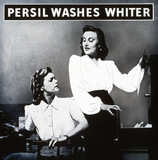 'Persil Washes Whiter', poster advertisement, c 1940s.