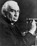 Louis Lumiere, French cinematography pioneer, early 20th century.