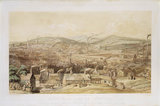 South-East view of Sheffield, South Yorkshire, 1855.