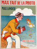 'Max taking photographs', cinema poster, 1910.