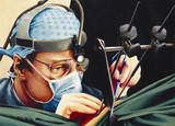 Mr Stephen Westaby, cardiothoracic surgeon, 1991.