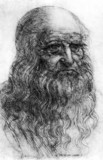 Leonardo da Vinci, Italian artist and engineer, c 1500.