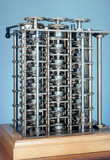 Charles Babbage's Difference Engine No 1, 1824-1832.