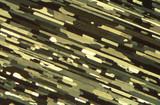 Anodised extruded aluminium, light micrograph, 1990s.