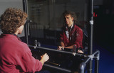 Two Way Mirror interactive, Science Museum, London, 1996.
