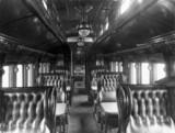 Midland Railway First Class Dining Carriage No 361, November 1895.