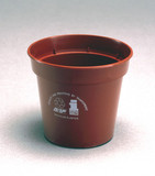 Plant pot made from recycled plastic, 1990.
