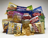 Selection of crisp packets, 1990s.