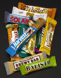 Selection of muesli bars, 1990s.