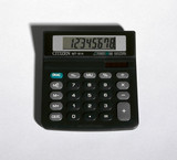 Citizen MT-814 calculator, 1996.