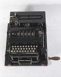 Typex Mk III cypher machine for field use, late 1930s.