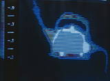 Thermal image of a kettle steaming, c 1980s.