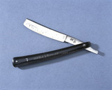 'Cut-throat' razor presented to T F Barnard by Michael Faraday, 1856.