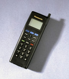 Panasonic I-series ETACS mobile phone, 1993.