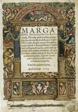 Title page of 'Margarita Philosophica', 1535.