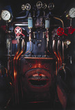 Footplate of the 'The Mallard' 4-6-2 steam