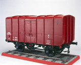Closed steel wagon, 1923. Model (scale 1:8)