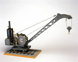 Locomotive steam crane, 1939. Model (scale