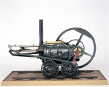 Pen-y-darran locomotive, 1804. Model. The