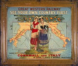 Great Western Railways (GWR) advertisement, c 1925.