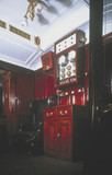 Footman's compartment in the the Royal Train, early 20th century.