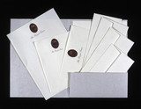 Royal Train stationery. The notepaper and