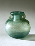 Spherical glas jar, Roman.