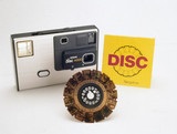 Kodak disc 4000 camera with film, 1982-1984.