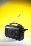 BayGen Freeplay wind-up radio, 1995.