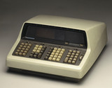 Hewlett Packard HP 9100A electronic programmable calculator, 1968.