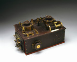 Marconi-Fleming valve radio receiver, c 1908.