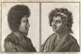 The King and a principal lady of Tahiti, c 1773.
