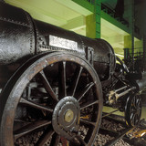 Remains of Stephenson's 'Rocket', 1829. Thi