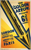'The Golden Arrow Pullman', SR poster, 1931.