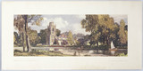 Hemingford Grey, BR carriage print, c 1950s