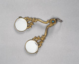 Hand folding spectacles, English, 1801-1850.